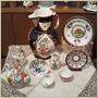 十八世紀ウースター窯のコレクション